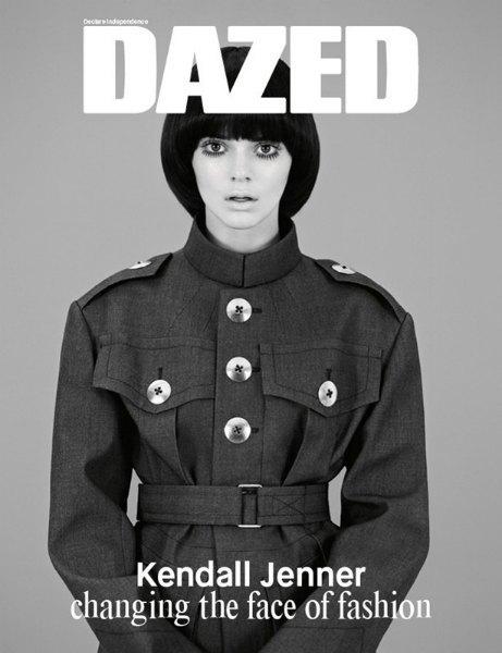 Кендалл Дженнер «меняет лицо моды» на обложке Dazed & Confused. Изображение № 2.