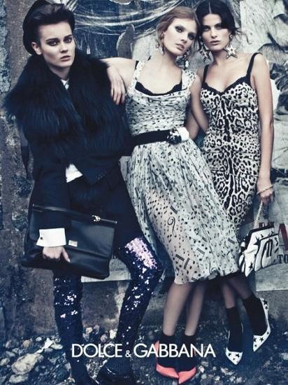 Dolce & Gabbana FW 2011. Изображение № 30.