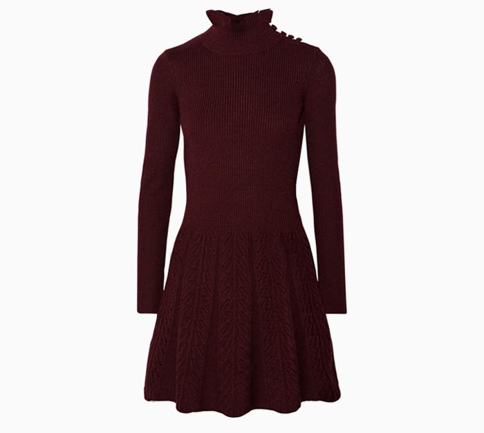 Тёплые платья на осень: 11 вариантов от простых до самых роскошных. Изображение № 10.