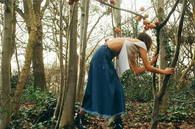 Первый проект Маши Мел для Marques'Almeida . Изображение № 4.
