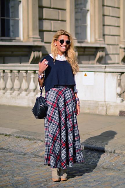 London Fashion Week: Уличный стиль, часть 1. Изображение № 4.