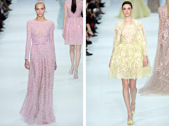Elie Saab Spring 2012 Haute Couture . Изображение № 8.