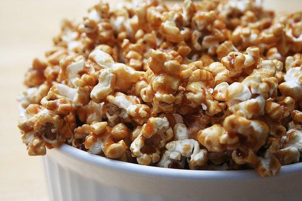 Хрустящий и маслянистый  попкорн. Изображение № 2.