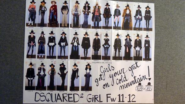 Изображение 22. Milan Fashion Week: бэкстейдж показа Dsquared.. Изображение № 12.