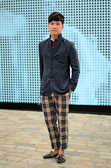 London Fashion Week: Уличный стиль, часть 1. Изображение № 27.