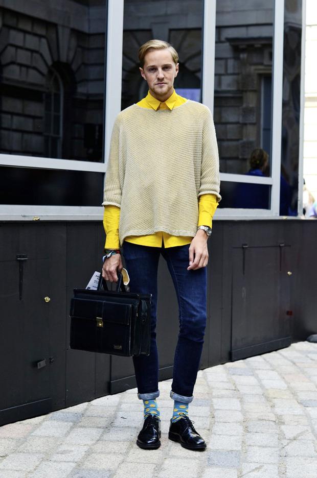 Streetstyle: Неделя моды в Лондоне, часть 2. Изображение № 28.