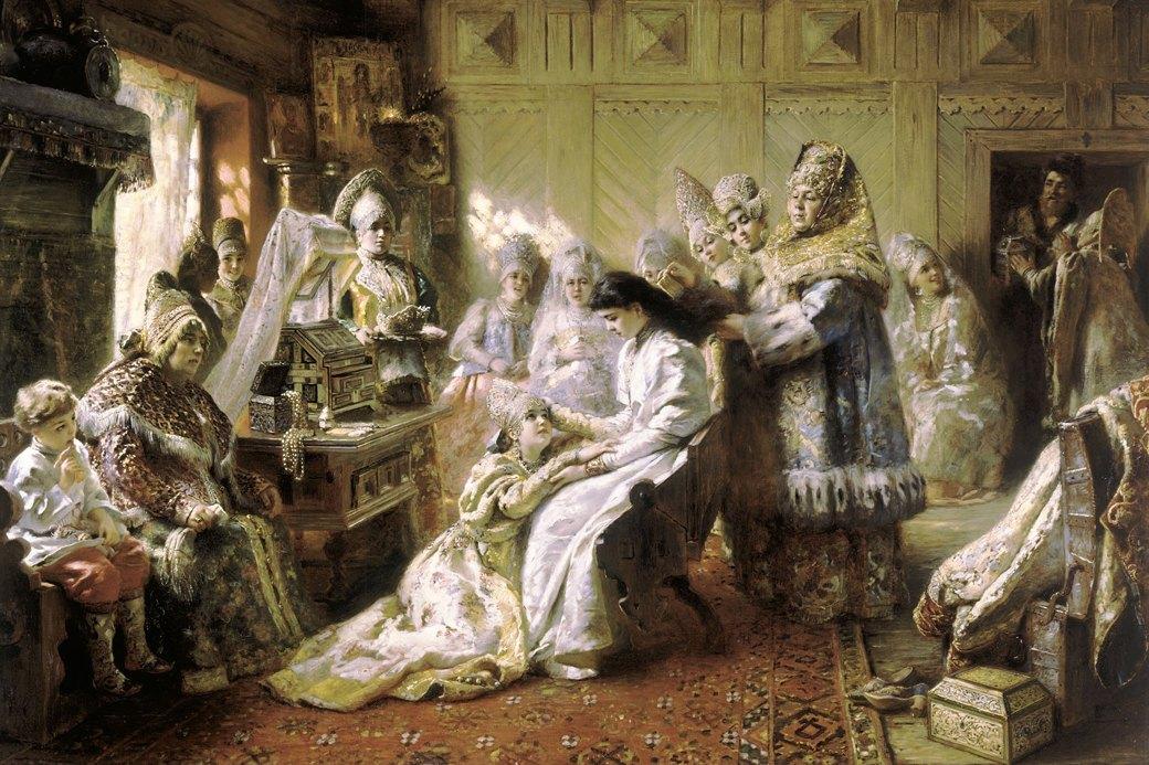 Кокошник: История «запретной женственности». Изображение № 4.