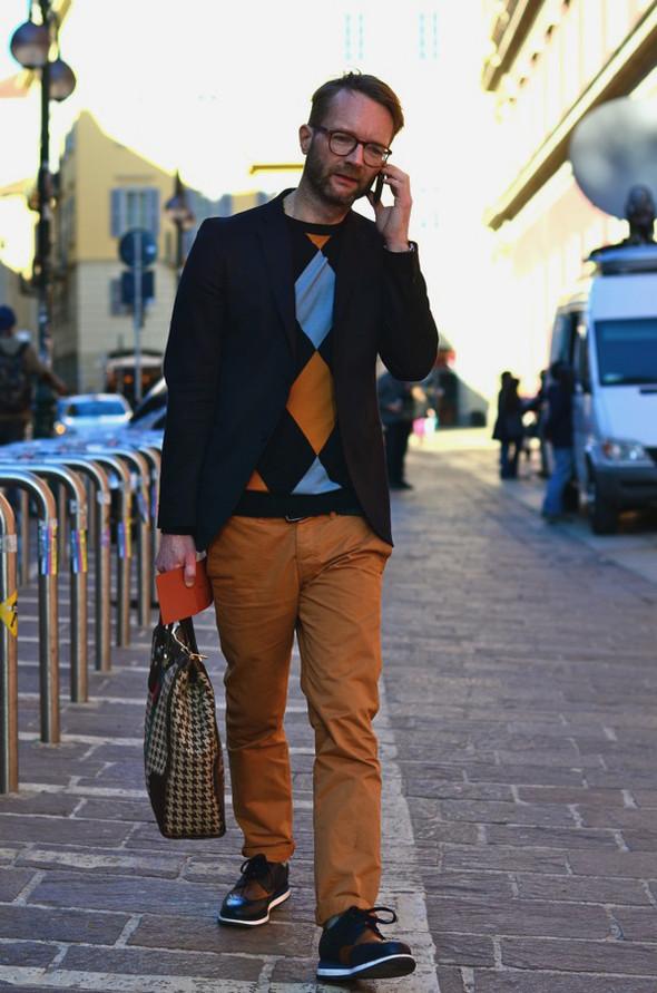 Неделя моды в Милане: Streetstyle. Изображение № 43.