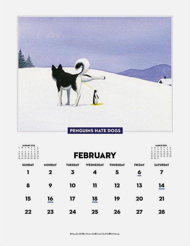 Самые абсурдные  календари на 2015 год. Изображение № 5.