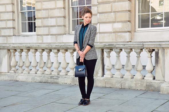 London Fashion Week: Уличный стиль, часть 3. Изображение № 6.