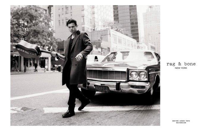 Леа Сейду и Майкл Питт снялись для кампании Rag & Bone. Изображение № 2.