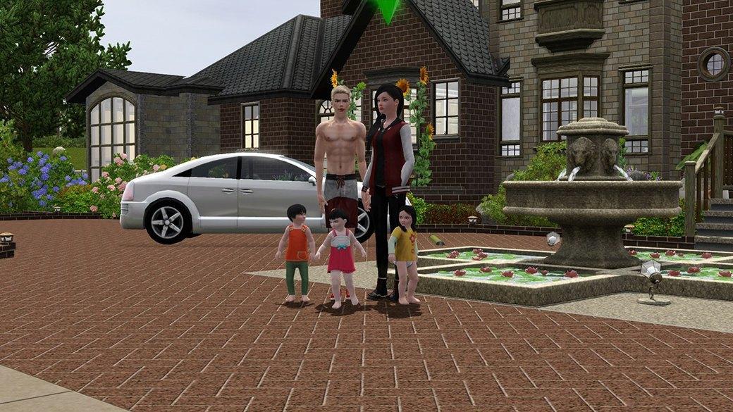 Как юные фанатки The Sims представляют себе взрослую жизнь. Изображение № 1.
