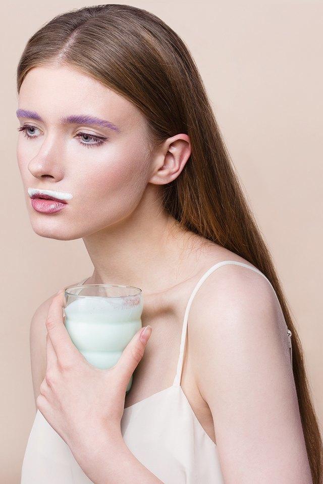 6 вариантов макияжа  с цветной тушью. Изображение № 4.