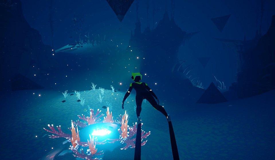 Видеоигра ABZÛ: Медитативное путешествие в глубины океана. Изображение № 4.
