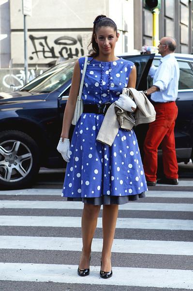 Milan Fashion Week: Уличный стиль, день 1. Изображение № 12.