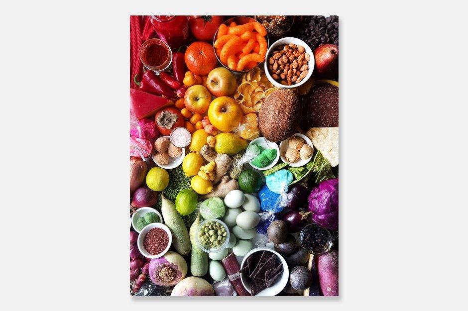 Принты с градиентами из еды. Изображение № 1.