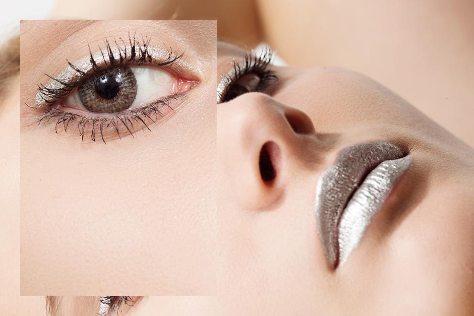 Монохромный макияж: 5 эффектных образов . Изображение № 7.