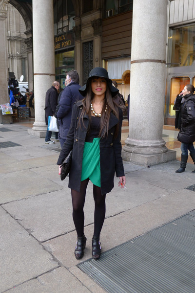 Milan Fashion Week: день четвертый – луки. Изображение № 14.