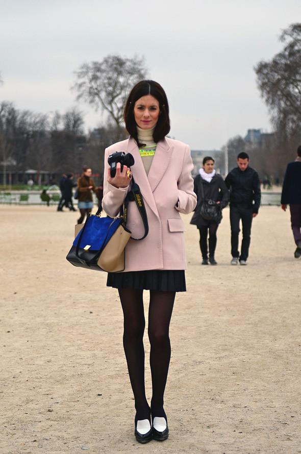 Неделя моды в Париже: Streetstyle. Изображение № 12.