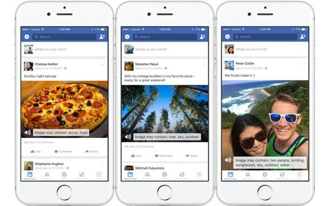 Facebook научили описывать изображения для незрячих пользователей. Изображение № 1.