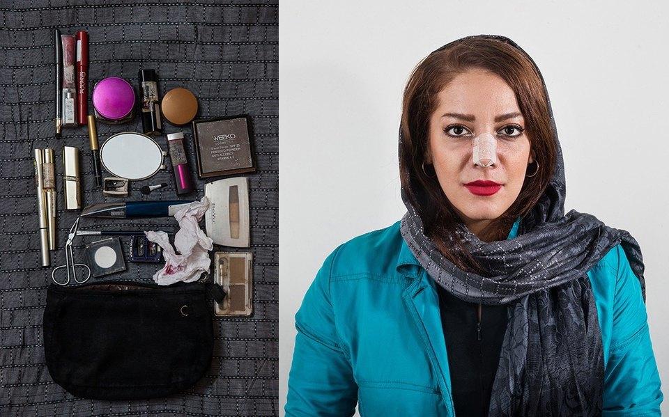 «Иранский макияж»:  Как и чем красятся  восточные женщины. Изображение № 11.