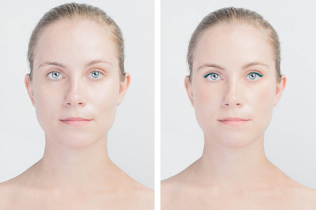 До и после макияжа:  Редакция тестирует  бьюти-приложения. Изображение № 20.