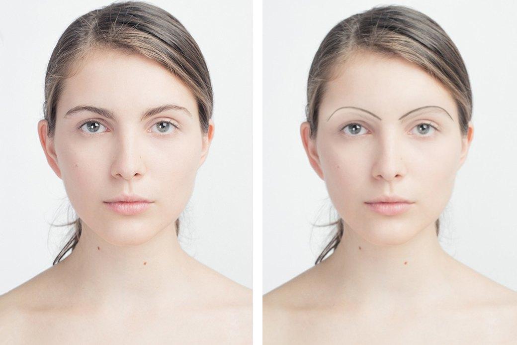 До и после макияжа:  Редакция тестирует  бьюти-приложения. Изображение № 8.