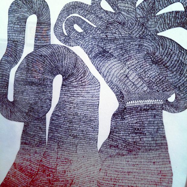 Дневник стилиста: Тесс Йопп о 3D-граффити, резиновых платьях и надувном динозавре. Изображение № 74.