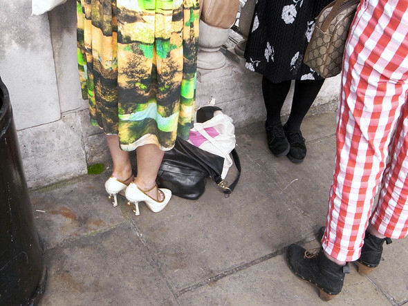 London Fashion Week: Репортаж с первого дня. Изображение № 3.