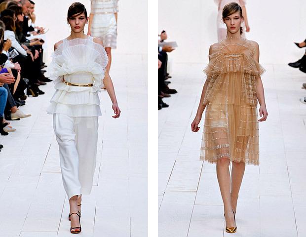Парижская неделя моды: Показы Stella McCartney, Chloe, Saint Laurent, Giambattista Valli. Изображение № 25.