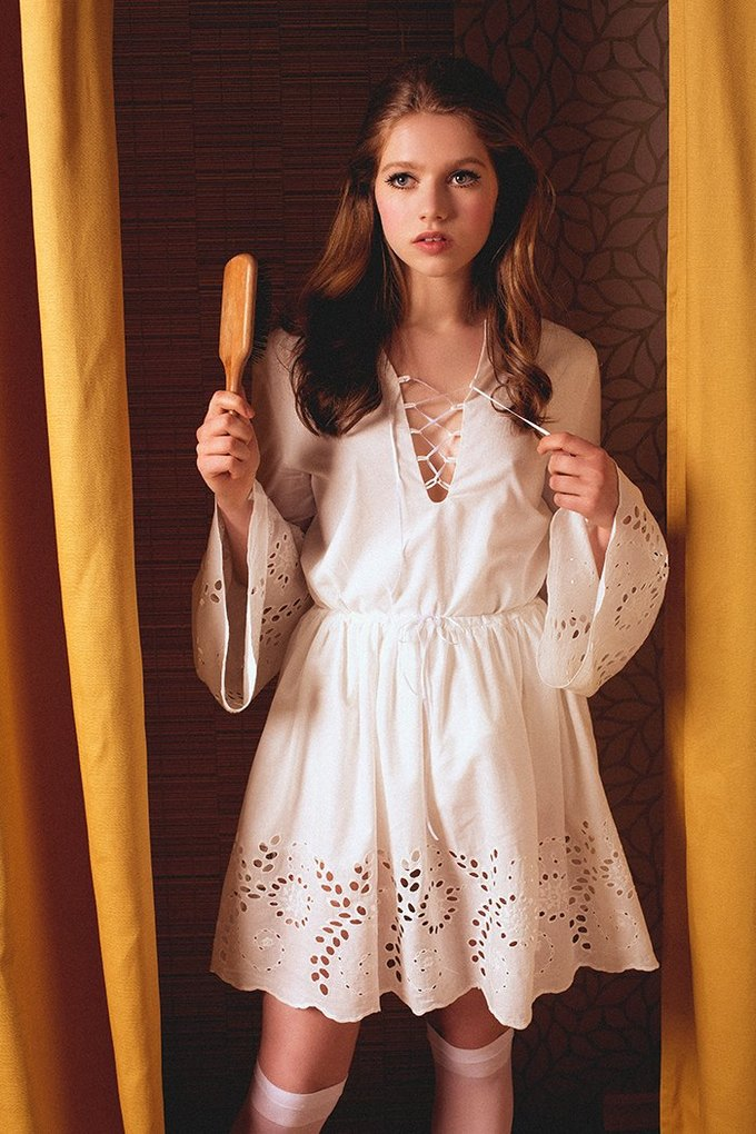 Marie by Marie представили лукбук круизной коллекции в духе 70-х. Изображение № 4.