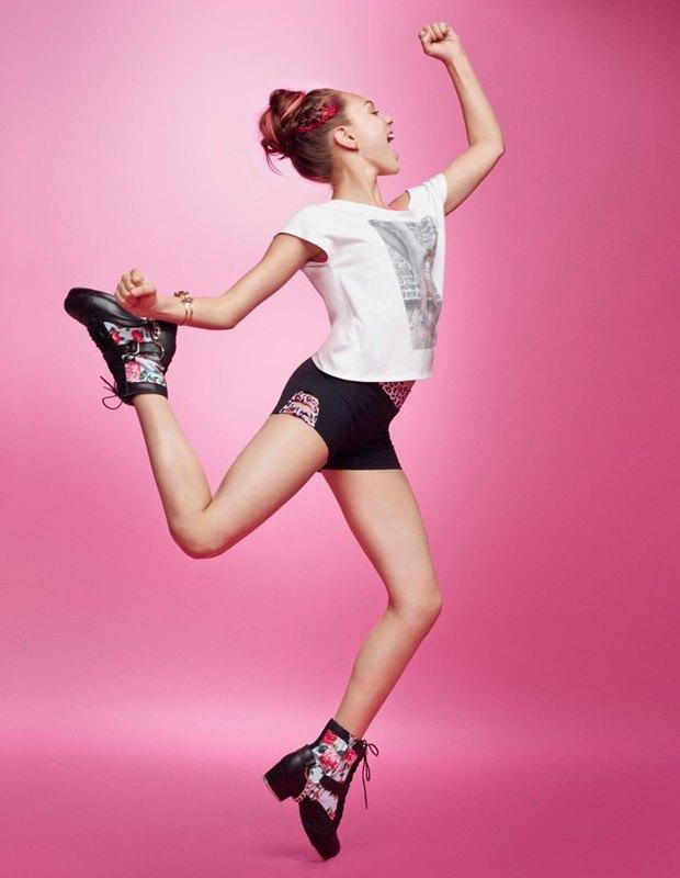 Танцовщица Мэдди Зиглер снялась в рекламной кампании Capezio. Изображение № 3.
