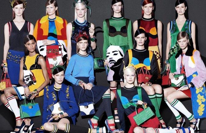 Для новой кампании Prada снялись 18 моделей. Изображение № 1.