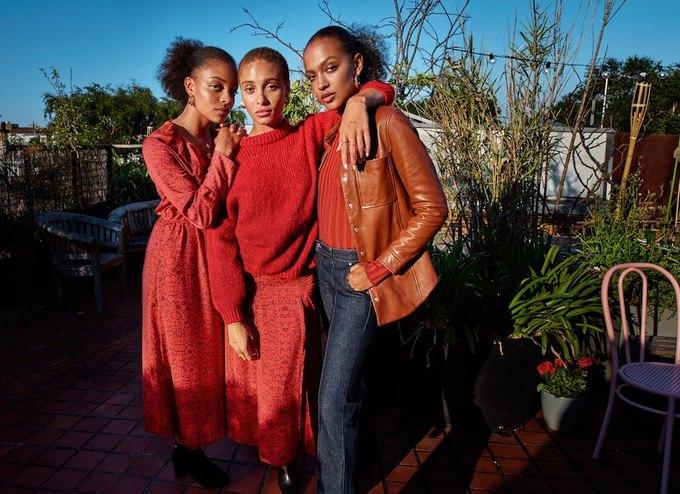Эмбер Валлетта, Эдриан Броуди и Адвоа Абоа в осенней кампании Mango. Изображение № 8.