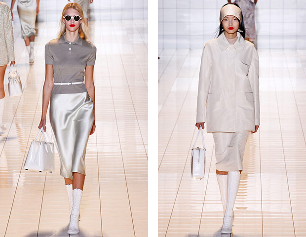 Парижская неделя моды: показы Damir Doma, Dries Van Noten, Rochas, Gareth Pugh и Mugler. Изображение № 23.
