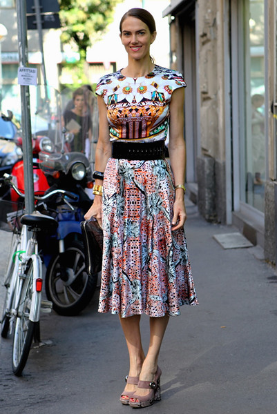 Milan Fashion Week: Уличный стиль, день 2. Изображение № 14.