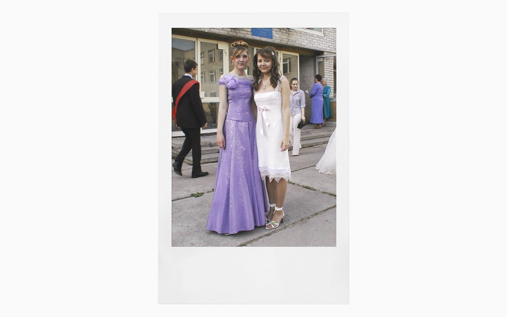 Вспомнить всё:  Девушки о своих  выпускных платьях. Изображение № 9.