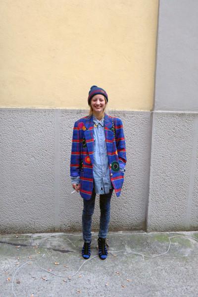 Milan Fashion Week: день четвертый – луки. Изображение № 19.