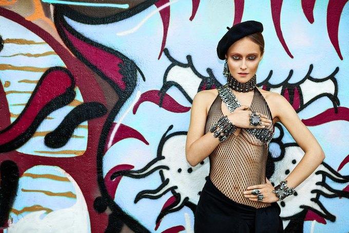 Дарья Шаповалова в новой кампании украшений Mawi. Изображение № 4.