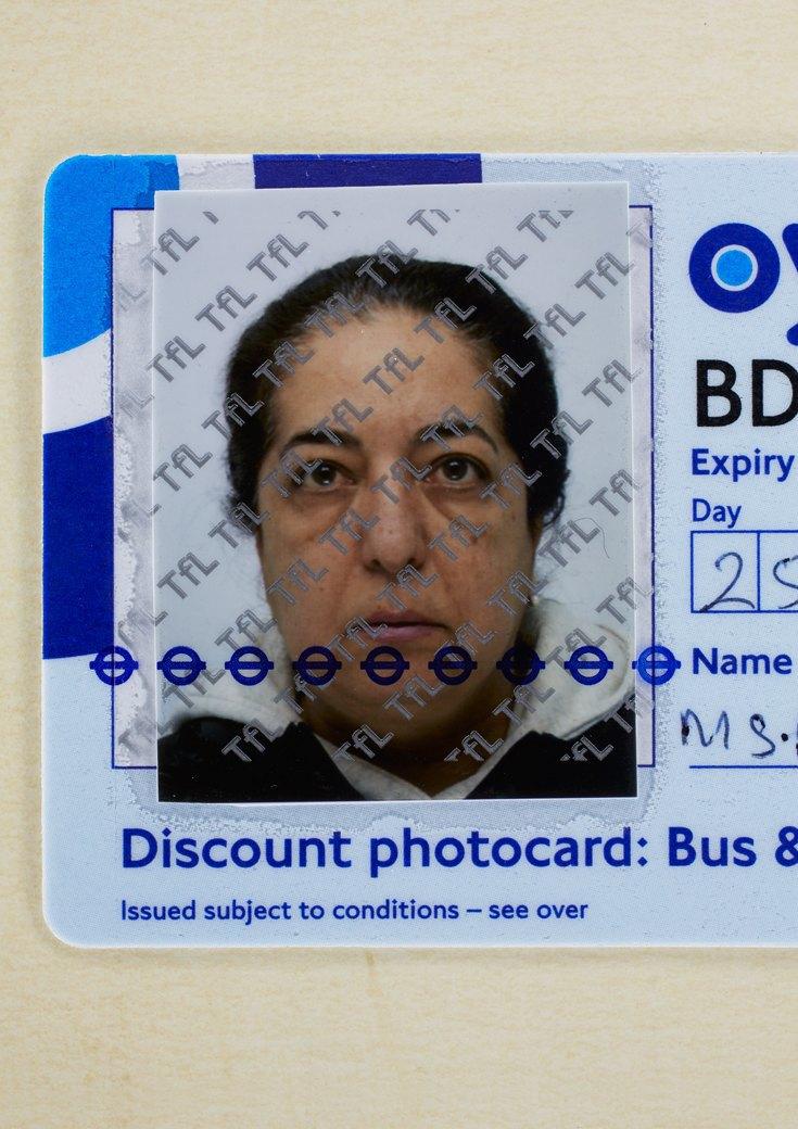 55 лет, проездной билет, Лондон, 2012. Изображение № 2.