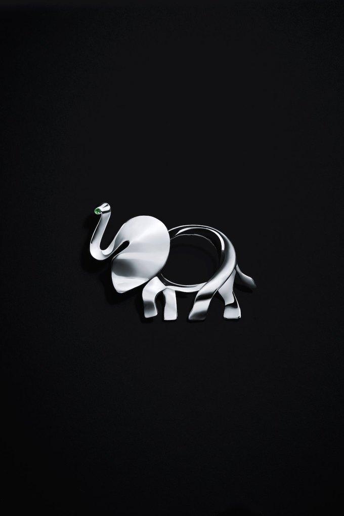 Tiffany & Co. выпустили коллекцию в защиту слонов. Изображение № 2.