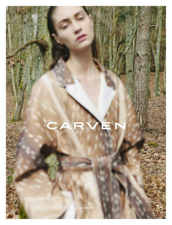 Пастель и расфокусировка в новой кампании Carven. Изображение № 2.