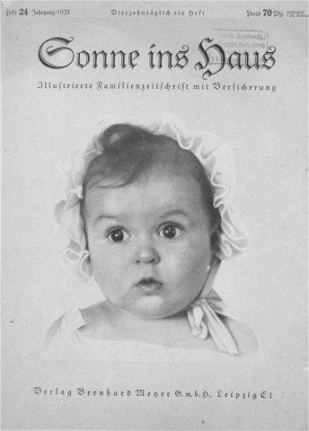 «Идеальная арийская девочка» оказалась еврейкой. Изображение № 1.