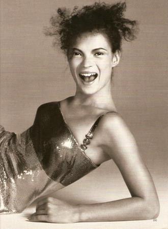 Кейт Мосс в рекламной кампании FW  1996