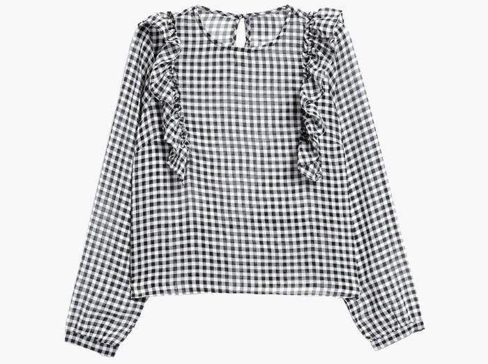 Прозрачные блузки:  От простых до роскошных. Изображение № 4.
