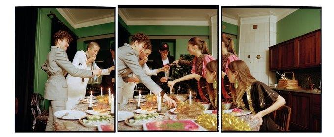 «Секция» показала новогодний лукбук  о праздничном застолье . Изображение № 11.