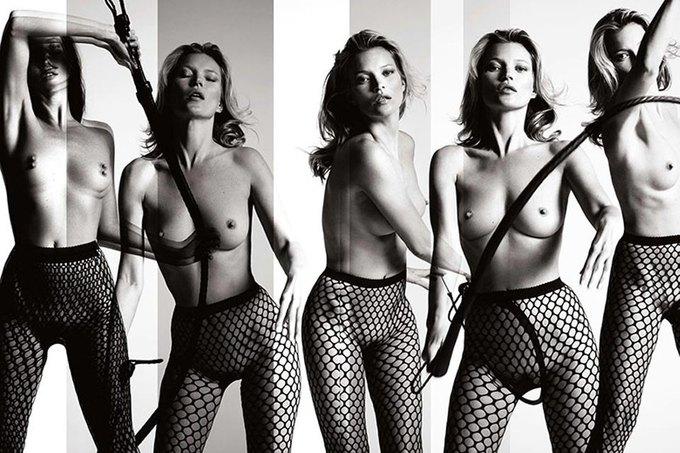 Кейт Мосс снялась для юбилейного номера Playboy. Изображение № 3.