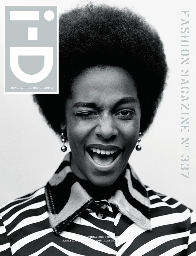 Журнал i-D отметил  35-летие восемнадцатью обложками с моделями. Изображение № 12.