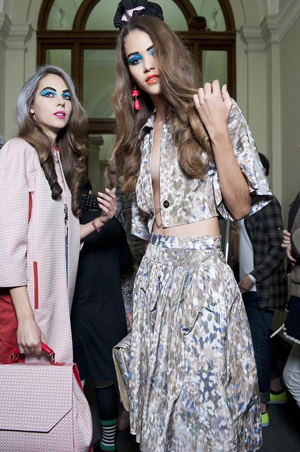 Неделя моды в Лондоне: Бэкстейджи. Изображение № 1.