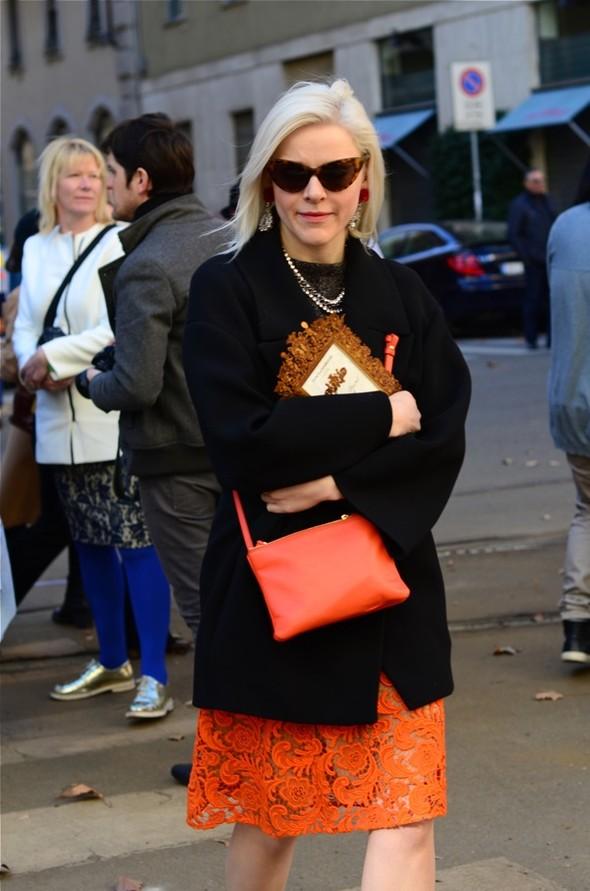 Неделя моды в Милане: Streetstyle. Изображение № 34.